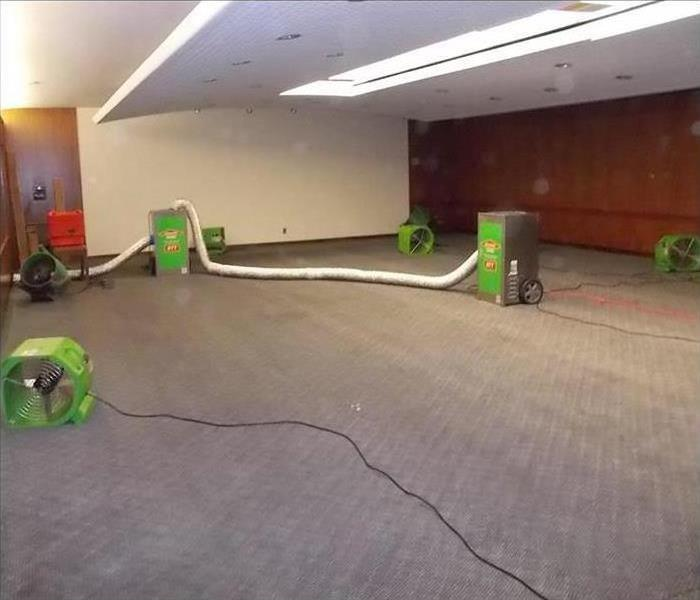 Commercial Water Damage – Northampton Conference Center Before