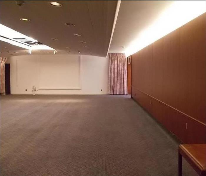 Commercial Water Damage – Northampton Conference Center After