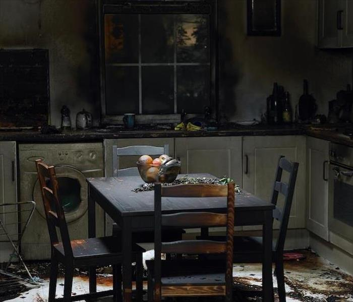 Fire Damage Cleaning Fire Residues in Your Home
