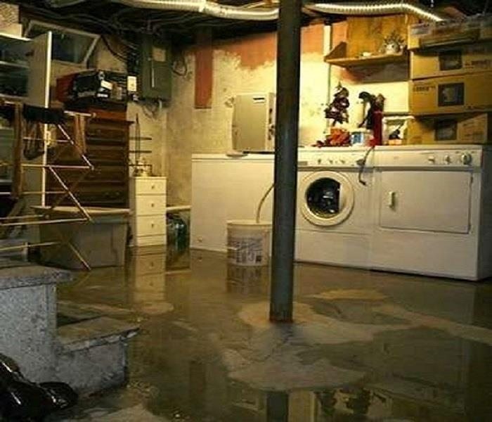 Water Damage Storm and Weather Related Basement and Building Flooding